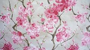 Arbre cerisier tissu coton Imprimé Floral Vendu au mètre-matière