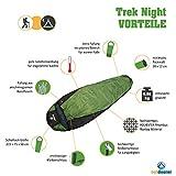 Schlafsack Trek Night von outdoorer – der Leichtschlafsack, warm, kleines Packmaß, leicht - 2