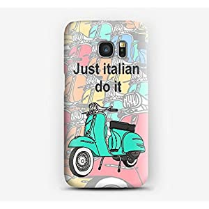 Case Cover Schutzhülle für Samsung S3, S4, S5, S6, S7, S8, A3, A5, A7, J3, Just Italian do it