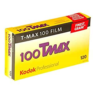 Kodak Professional Tmax 100 - 120 Roll - Black & White Print Film - 5 Pack