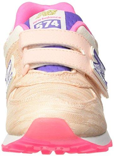 New Balance Jungen 574 Preschool Lifestyle Textile Gymnastik Rosa