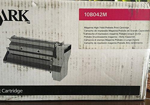 C750 Toner Schwarz (Lexmark 10B042M Cartridge 15000Pages Magenta Laser Toner & Cartridge-Laser Toner & Cartridges (Magenta, Lexmark C750, Lexmark X750e, 1PC (S), Cartridge, 15000Pages, Laser))