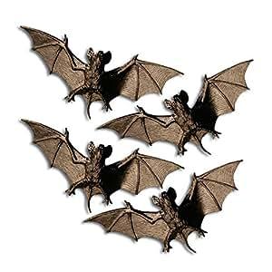 Fledermäuse als Halloween Deko Dekoration Halloweendekoration Halloweendeko Fledermaus Gruseldeko