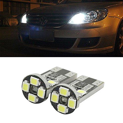 Lampadina T10 5 W5 LED Lampada Alta Qualità Premium Targa Luci di posizione W5 W 8 SMD Bianco 6000 K T10 universale 5 pcs Ess Tech® Alta Qualità luminescenza