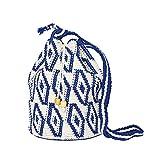 MARYSAL Hippie Bag | Handgefertigt aus Guatemala | Das perfekte Sommer-Accessoire! (Blau)