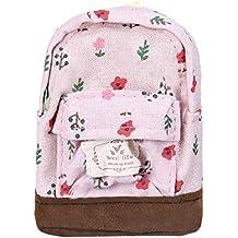 Tongshi Mini lona florales Mochila Mujeres Niñas Niños barato bolsa de la moneda ...
