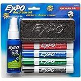 Expo 6-Piece Low Odor Dry Erase Marker Starter Kit(80653)