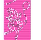 Mmengyuan Respetuoso del Medio Ambiente Estera de Yoga Salto de Danza Estera para niños Práctica de Esterilla Chica Antideslizante 185 cm * 90 cm * 15 mm