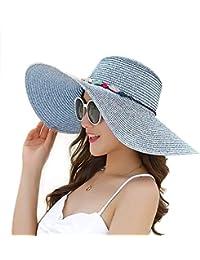 Sombrero De Paja Sombrero Para El Para Puntos Ocasional Sol Hombres Protector Solar Plegable Ala Ancha