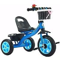 AZZ 3 In 1 Kids Trike, Balance Bike Kids Tricycle Toddler Bike For 1-3 Years Old Baby Boys Girls, 3 Wheels Ride On Bike Kids Toddler Tricycle/Balance Bike (Color : Blue)