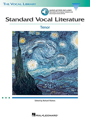 Standard Vocal Literature: Tenor [With 2 CDs] (Vocal Library)