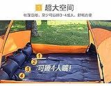 ZHUDJ Vollautomatische Zelt, 3-4 Personen, 5-8 Personen, Multiplayer, Zelten, Camping, Picknick, Regendicht, Orange
