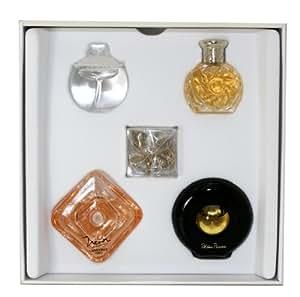 Precious Collection de Various Designers Coffret Cadeau Lot de 5 ( Miniature de Tresor 7.5 Ml + Safari 4ml + Noa 7ml + Paloma Picasso 4.8 Ml + Noa 7 Ml + Charm Bracelet) Pour Femme
