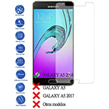 Protector de Pantalla Cristal Templado Vidrio para Samsung Galaxy A5 2016 A510F