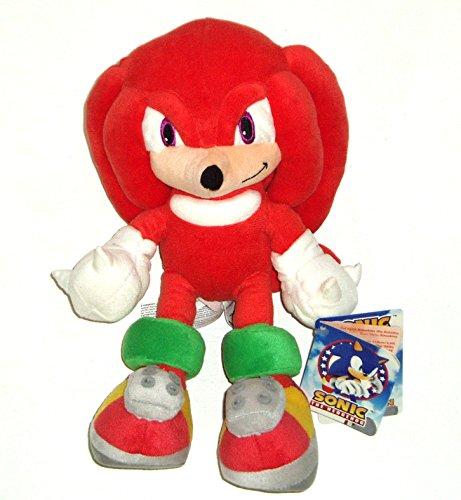 sonic-the-hedgehog-knuckles-the-echidna-giocattolo-molle-33-centimetri-genuino-licenza-