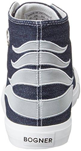 Bogner - New Jersey M1, Scarpe da ginnastica Uomo Denim (Jeans)