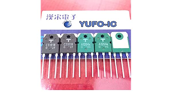 2SA1264 2SC3181 Transistoren komplementär