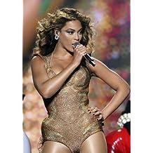 Beyonce Knowles–Cantando–Singer–Pop Star–diva- A4–Póster de impresión Art–Imagen