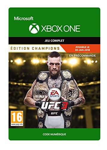 UFC 3: Champions Edition Pre-Purchase | Xbox One - Code jeu à télécharger
