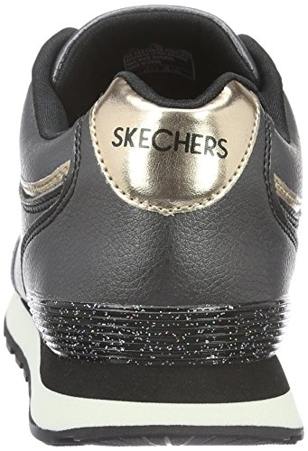 Skechers Equalizer- Game Point, Sneaker Basse Uomo Nero (blk)