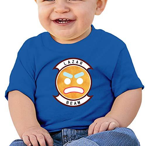 Jungen Sommer T-Shirt Lazarbeam T Shirt Shirts Für Kleinkind Mädchen Jungen Kurzhülse Kleidung Blau 2 T ()
