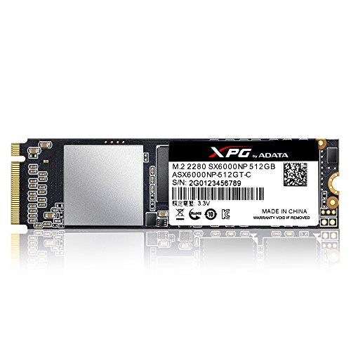 Price comparison product image ADATA SSD XPG SX6000 M.2 PCIE 512G