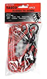 Tasco 97202cables de goma de alta resistencia, cuerda elástica, correas de amarre (4piezas)