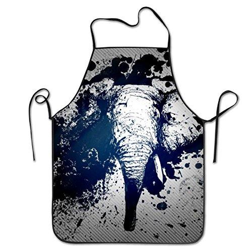 Dacron Überhandschürze Elefant Boho Schürze Schürze Kochen für Teenager Einheitsgröße