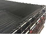 Hapro Feinmaschiges Gepäcknetz Anhängenetz Anhängerabdecknetz Abdecknetz 270 x 150cm