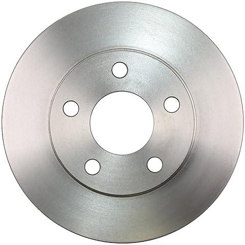 ABS 17255 Discos de Frenos, la Caja Contiene 2 Discos de Freno
