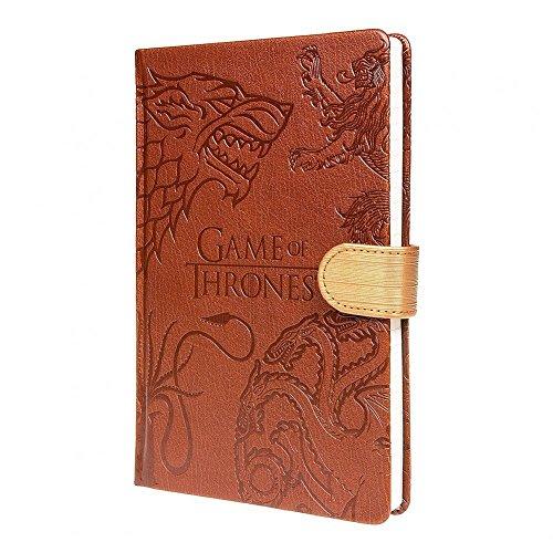 Game of Thrones - Westeros Häuser - Notizbuch in DIN A5 | liniert | 100 Seiten