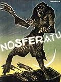 Nosferatu Movie Max Schreck Gustav von Wangenheim 1922 Oben Poster Print, 61x82 cm