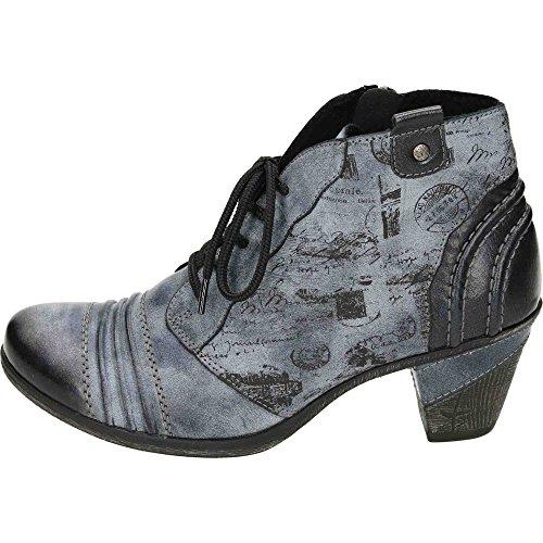 Remonte Damen D8771 Chukka Boots Blau (Ozean/Schwarz/Ozean)