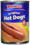 Princes Hotdog Sausages, 4 x 400g