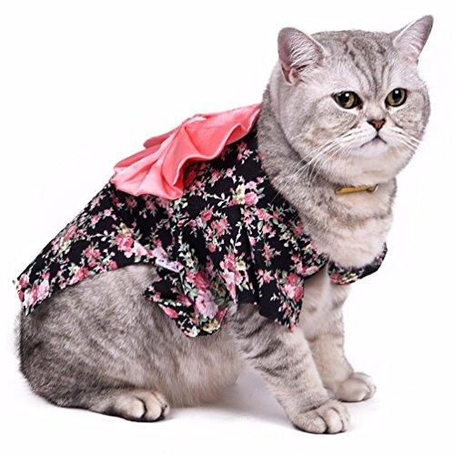 smalllee--Lucky--store-pequeo-gato-perro-patas-Militar-chaqueta-con-forro-polar-invierno-Jumpsuits-talla-XS-color-rojo