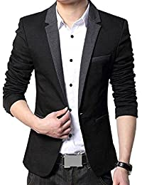 86d9b131195 Amazon.in  Slim Fit - Suits   Blazers   Men  Clothing   Accessories