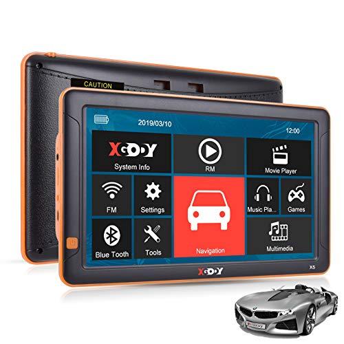 Xgody X5BT - Sistema de navegación GPS para Coche, camión, GPS de...