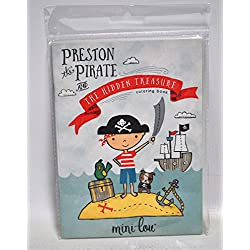 Libro con dibujos para colorear, Preston the Pirate.