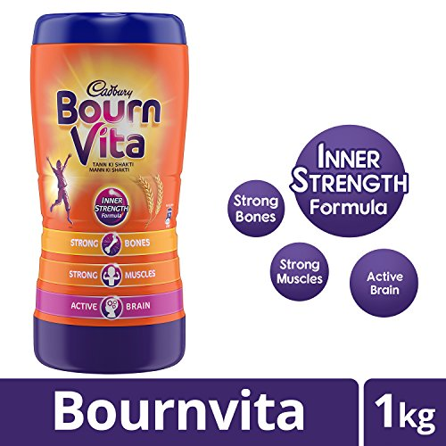 Cadbury Bournvita Pro-Health Chocolate Health Drink, 1kg Jar