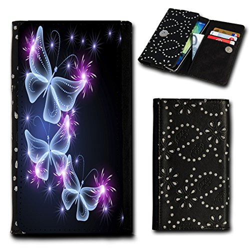 Book Style Flip Handy Tasche Case Schutz Hülle Foto Schale Motiv Etui für ZTE Blade C341 - Flip SU1 Design6