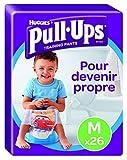 Huggies Pull-Ups Garçon Taille 5/Medium (11-18 kg), Couche-Culotte d'Apprentissage de la Propreté Disney Cars x52 (lot de 2 paquets de 26 culottes)