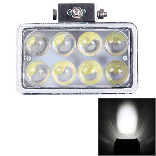 Lumière de brouillard de voiture pour BINODA, 4 pouces DC 9-36 V 45 W 3800LM 6000 K Carré Spot de Voiture Brouillard Spot Foglight LED Voiture Ampoules avec 8 LED Lumières