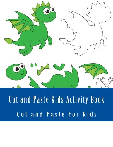 Cut and Paste Kids Activity Book por Cut and Paste For Kids
