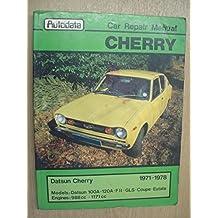 Datsun Cherry Autodata Car Repair Manual 1971-1978