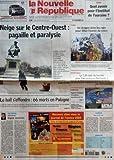 Telecharger Livres NOUVELLE REPUBLIQUE LA N 18619 du 30 01 2006 NEIGE SUR LE CENTRE OUEST PAGAILLE ET PARALYSIE LE HALL S EFFONDRE 66 MORTS EN POLOGNE EDITORIAL ESPOIR CENTRISTE PAR DANIEL LLOBREGAT TOURS QUEL AVENIR POUR L INSTITUT DE TOURAINE TOURS UN DRAGON DANS LES RUES POUR FETER L ANNEE DU CHIEN BASKET BALL LE TJB CEDE DU TERRAIN POUR L ACCESSION EN NATIONALE 1 POMPIERS APPELS D URGENCE FORMATION CHANTIERS EN VUE CANDIDE DIEU SEUL LE SAIT SOMMAIRE LE FAIT DU JOUR FAITS DE (PDF,EPUB,MOBI) gratuits en Francaise