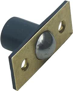 1 X Ball Catch 58mm Brass Plated Mortice Door Latch