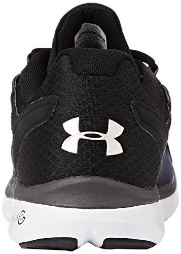 Under Armour Micro G Velocity, Chaussures de running homme Noir (Black)