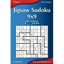 Jigsaw Sudoku 9x9 - Easy to Extreme - Volume 1-276 Puzzles