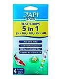 API Test de Qualité d'Eau pour Bassin d'Agrément Test 5 en 1 (4 Bandelettes)