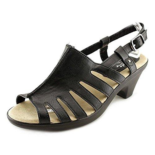 Easy Street Kacia Femmes Cuir Sandale Black